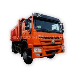 La Cina nuovo o 6X4 10 delle rotelle 371HP del ribaltatore autocarro con cassone ribaltabile utilizzato di HOWO originale per miei