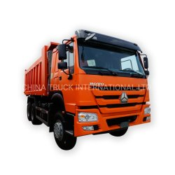 Cina originale SinoTruck Heavy Duty Truck/HOWO nuovo 6X4 10 ruote 371HP cassone ribaltabile/paraurti/dumper per miniera