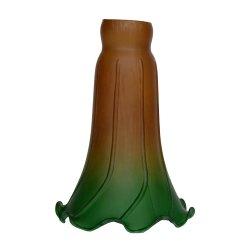 Lily Flower Glass Lampshade استبدال إضاءة المصابيح قطع الغيار وتركيبات البناء