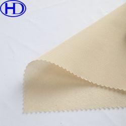 100% poliéster têxtil Haodeng tecido escovado