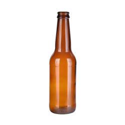 300ml 500ml Qualitäts-leere kundenspezifische Bier-Saft-Glasflasche