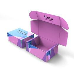 Zoll druckte die kleinen Geschenk-Becher, die aufbereiteten Cup-verpackenden Wellpappen-Geschenk-verpackenverpackungs-Kasten verpacken