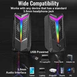 USB 2.0 Стандарт USB DJ сабвуфер ноутбук PA динамики компьютера