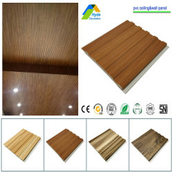 中国卸売高幅 200mm/250mm/300mm/400mm ラミネート 3D 耐火性 PVC 天井の誤り シャワーウォールボードシート、 PVC パネル
