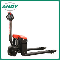 1.5Ton Heavy Duty 1500 kg Powered Electric Mini Transpaleta Transpaleta con motor eléctrico