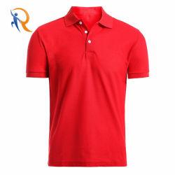 Gli uomini su ordinazione di Mbroidered di prezzi di fabbrica comerciano l'abito all'ingrosso delle magliette di sport di polo