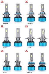مصابيح LED h4 H7 مصابيح LED الأمامية SAP-9012 مصابيح LED للسيارة مع مصباح المصباح الأمامي للسيارة H1 LED CANbus Car Light مصابيح LED للسيارات
