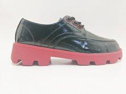 블랙 여성용 멋진 모카신 신발 레이스업 로퍼 여행용 신발 여성용 신발