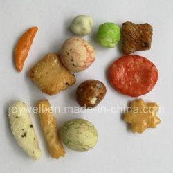 فطائر فول سوداني مغلف مقرمش ومقرمشة ومقرمشات الأرز المحمصة