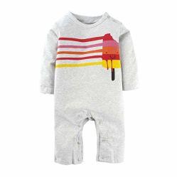 Einteiler der Baby-Abnützung-Kleidungs-Jungen stellte mit langer Hülsen-Spielanzug-Pyjama-Kleidung ein