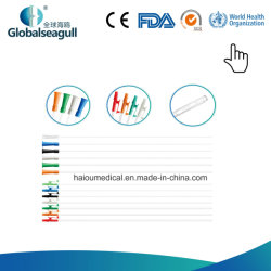 Medizinischer Belüftung-Absaugung-Katheter/Gefäß mit Finger-/Trichter-/Flugzeug-Geräteanschlüssen