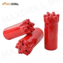 漂うおよびトンネルを掘るMaxdrill R25のドリルボタンビット糸の上のハンマー・ドリルのツール