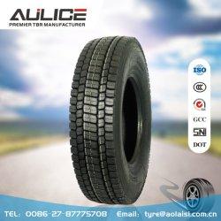 11R22.5, 315/80R22.5 Tous les pneus de camion radial de l'acier, AR8181 AULICE TBR/OTR, d'usine de pneus tubeless 295/80de pneus de camion R22.5 pneu 295/75R22.5 commercial