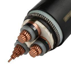 PVC/XLPE kupferner/Aluminiumleiter-gepanzertes oder Unarmored elektrischer Strom-Isolierkabel. Verschiedene Typen des elektrischen Kabels