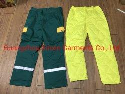 Ropa reflectantes Pantalones Ropa de trabajo de seguridad en general (W863)