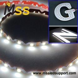 Prix de gros DC12V S-forme/LED en zigzag Bande souple
