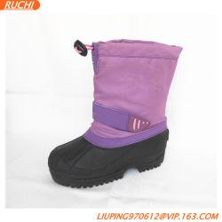 De Laarzen van de Sneeuw van kinderen maken Laarzen van de Winter van Meisjes de Purpere waterdicht