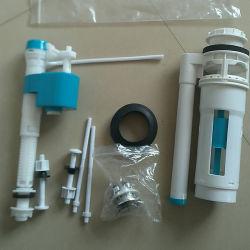 Los racores de depósito /Ballcock/válvula de admisión/ Dos piezas de montaje para depósito de agua o cerámica