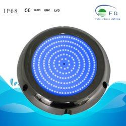 IP68 316 ss полимера заполнены 8W голубой бассейн лампу