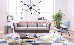 Salle de séjour de loisirs moderne de meubles canapé avec le stockage de poche