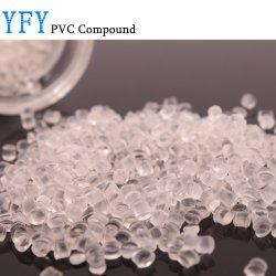 Première doux colorés de grade médical granules de PVC avec prix de vente directe en usine