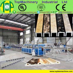Kunststoff-PVC-Maschinen Wandboden Fliesendach Kunststoffextruder Künstliche Marmorplatte Produktionslinie