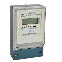 Combinaison électronique triphasé Watt-Hour mètres pour l'énergie active et réactive