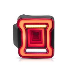 Роботизированная туннеля динамичным стилем светодиодный задний фонарь 2018 2019 задние фонари для Jeep Wrangler