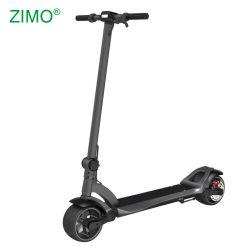 2019 en dos ruedas plegable adulto baratos Kick Scooter eléctrico con el asiento, la grasa de motor doble neumático de rueda Scooter eléctrico plegable Amplia para Adultos