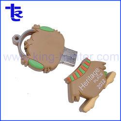 O PVC personalizados de alta qualidade Cartoon USB Disk para Oferta Promocional