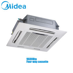 Midea Vrf Indoor Units 4-weg cassette Mi2-28q4dhn1 1-fase 220-240V 50/60Hz 9600BTU 2.8kw Multi Zone-airconditioning voor plafondmontage