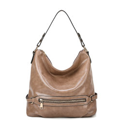 Sacchetto di acquisto della borsa del Hobo del progettista del cuoio del Vegan della signora Fashion PU per le donne