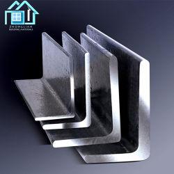 Barra de ángulo de acero galvanizado negro Metal Ms igualdad/desigualdad