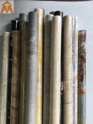 La conception de marbre gaufré feuille PVC décoratifs pour Panneau mural