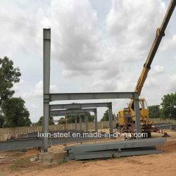 Construcción de acero en África con estructura de acero de construcción prefabricados