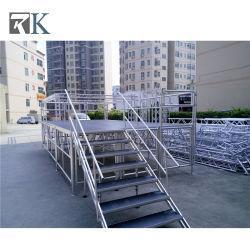 Phase mobile en aluminium pour l'événement