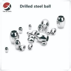 OEM-leverancier Precision Casting op maat gemaakte DIN/JIS/ANSI-standaard roestvrij staal 304 316 Mirror Oval Hollow Bead ketting Sieraden Accessoires