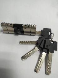 [هي سكريتي] أسطوانة في نحاس أصفر صلبة مع ثعبان ثقب مفتاح و [مول-ت-لوك] [بين] في دباسات وحاسوب [رفرسبل] مفتاح