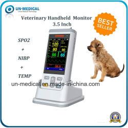 Animal de la SpO2 + Temp+ PB Moniteur de signes vitaux portable (PC100V)