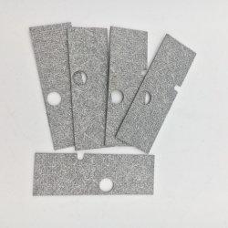 L'épaisseur de 2,5mm TP310s en acier inoxydable fibre en métal fritté filtre en feutre