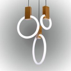 Rudi Poignée de commande de la lumière, moderne et lumineux pour la salle de séjour, lustre