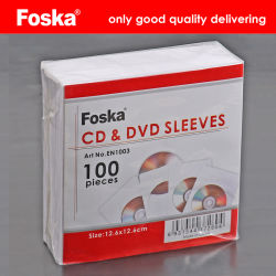 Горячий Foska продажи белого цвета с компакт-диском конверта