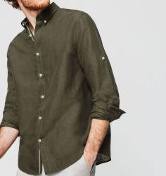 Fábrica OEM camisetas de manga larga camisetas casual para hombres