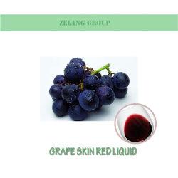 Fabricant de colorants alimentaires liquide rouge de la peau du raisin pour le vin rouge