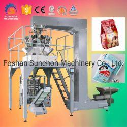 De Verpakkende Machine van het Voedsel van Automaitc voor de Bonen van de Koffie met de Weger van multi-Hoofden