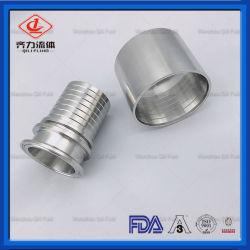 Les mesures sanitaires de l'adaptateur en acier inoxydable flexible serré
