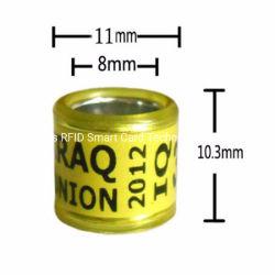 Личный Racing Голубь кольцо для ног полосы написать имя телефона логотип Года