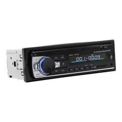 Radio 1DIN Autoradio entrada auxiliar estéreo Bluetooth de receptor de radio MP3 Reproductor Multimedia Apoyo FM/MP3/WMA/USB/SD