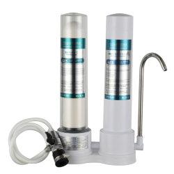 Корпус нержавеющая сталь жилых Triple 3 стадии домашних водяной фильтр для Undersink настенное крепление водоочиститель системы очистки воды диспенсер для воды