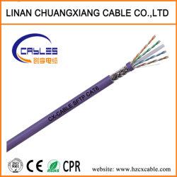 Sistema del video di obbligazione del cavo della rete via cavo di lan di dati di Telecome SFTP/FTP CAT6